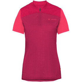 VAUDE Tremalzo IV Shirt Women crimson red
